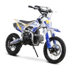 GMX Moto125 125cc Dirt Bike Blue/White
