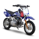 GMX Moto50 50cc Dirt Bike Blue