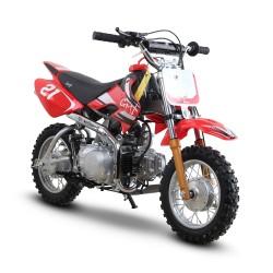 GMX Moto125 125cc Dirt Bike Red/White
