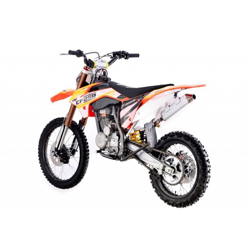 Crossfire CF250 250cc Dirt Bike - Orange   GMX Motorbikes