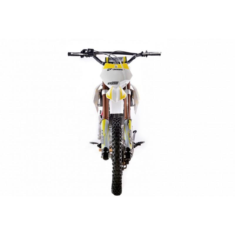 Crossfire CF250 250cc Dirt Bike - White   GMX Motorbikes