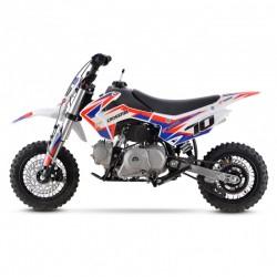 2020 Crossfire CF70 70cc Kids Dirt Bike - White