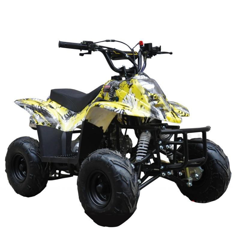MW 110cc Sports Quad Bike - Yellow
