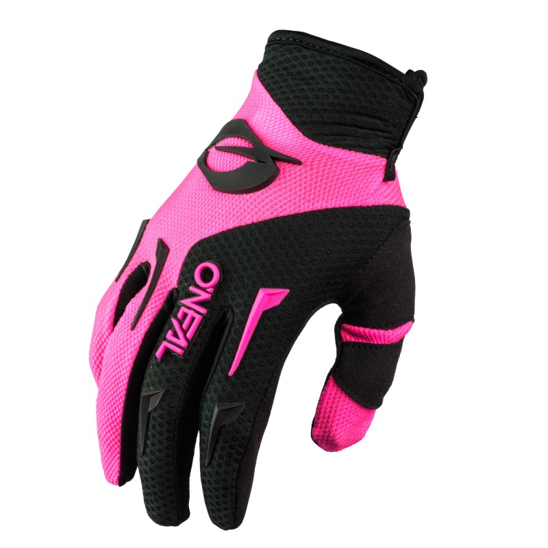 Oneal 2021 Element Glove Black/Pink Adult Womens 09 (XL)