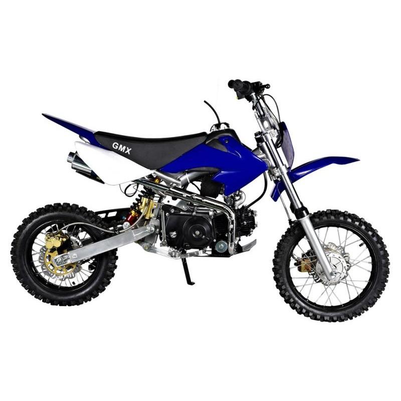 gmx rider x blue 125cc dirt bike. Black Bedroom Furniture Sets. Home Design Ideas