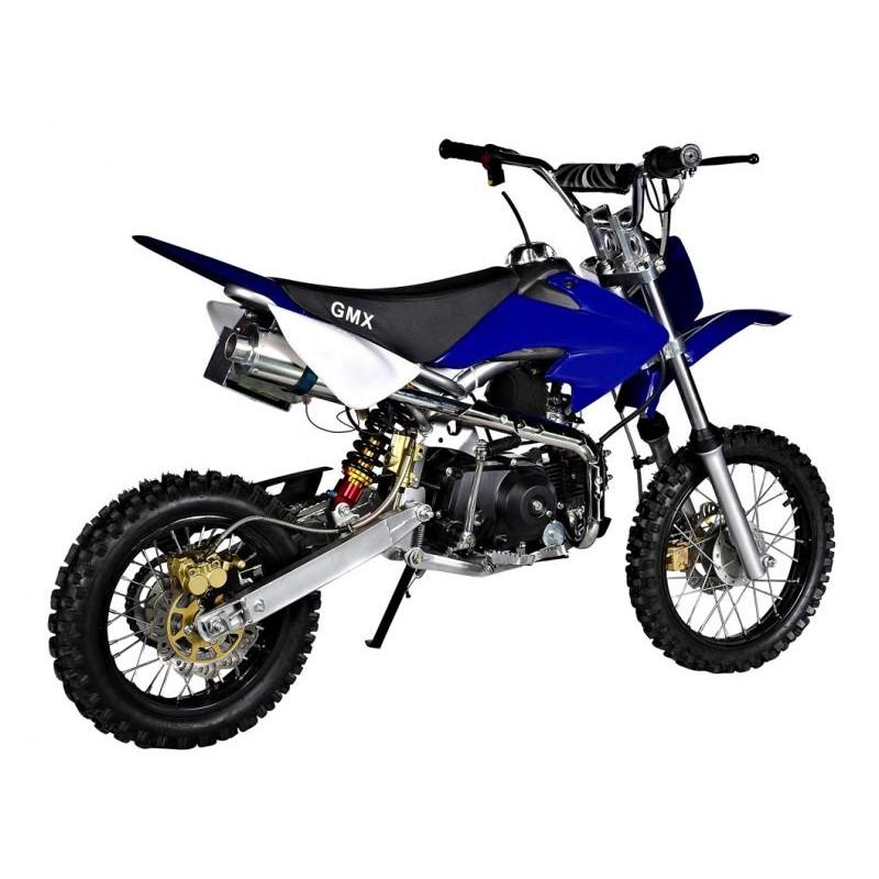 gmx rider x dirt bike 125cc blue. Black Bedroom Furniture Sets. Home Design Ideas