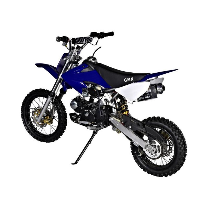 gmx rider x dirt bike 125cc blue. Black Bedroom Furniture Sets. Home Design Ideas