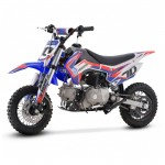 2020 Crossfire CF70 70cc Kids Dirt Bike - Blue