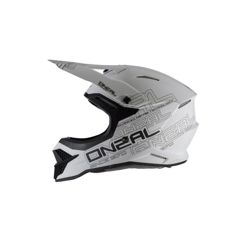Oneal 2021 3 Series Flat 2.0 Helmet White LG