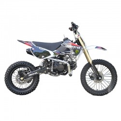GMX 150cc Big Wheel Dirt Bike Red