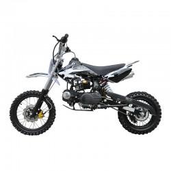 MW 125cc Dirt Bike Small Wheel Black