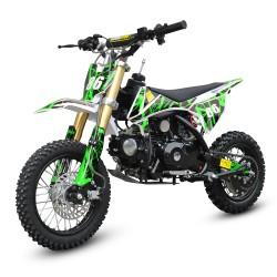 MW 90cc Dirt Bike Small Wheel Green
