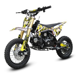GMX 90cc Dirt Bike Small Wheel Yellow