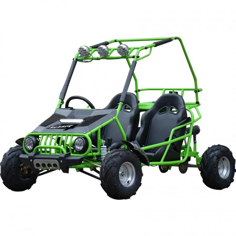 GMX 125cc Hammer Dune Buggy - Green