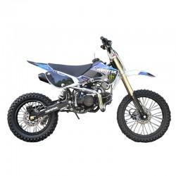 GMX 150cc Big Wheel Dirt Bike Blue