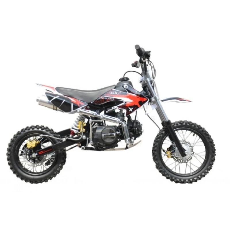 MW 125cc Dirt Bike Small Wheel Red