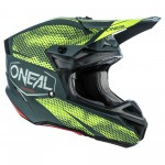 Oneal 2021 5 Series Covert Helmet Charcoal/Neon Yellow Adult SM