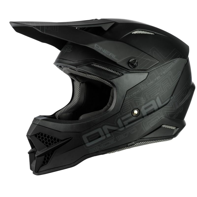 Oneal 2021 3 Series Flat 2.0 Helmet Black MD