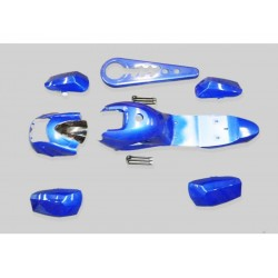 GMX 49cc Quad Bike Blue Complete Fairing/Plastic Kit