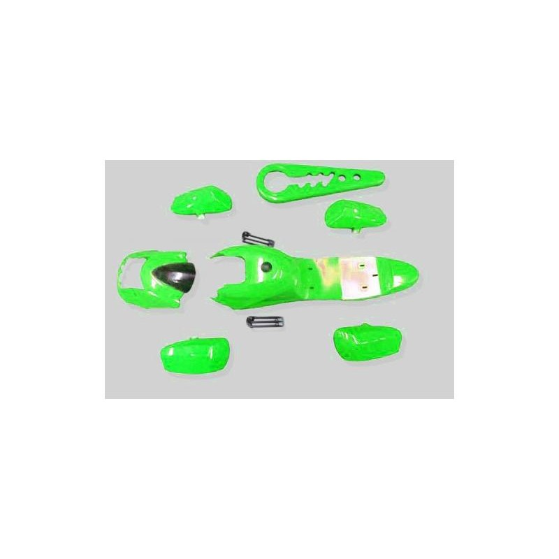 GMX 49cc Quad Bike Green Complete Fairing/Plastic Kit
