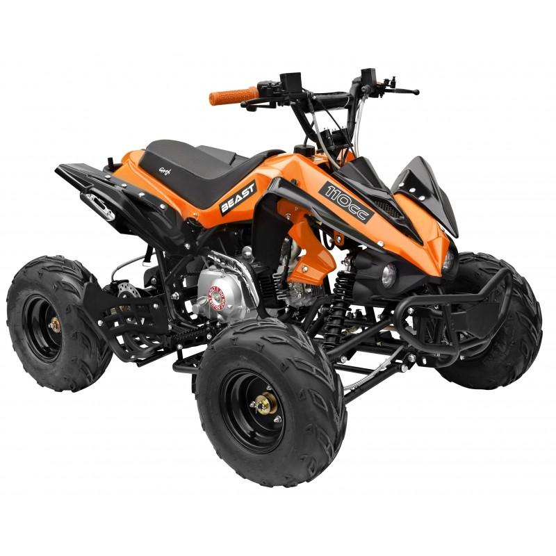 Gmx The Beast Sports Quad Bike 110cc Orange