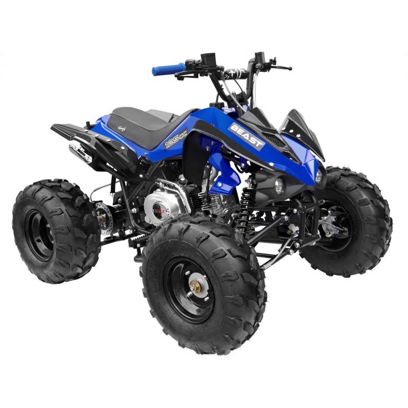 GMX The Beast Blue 125cc SPORTS Quad Bike