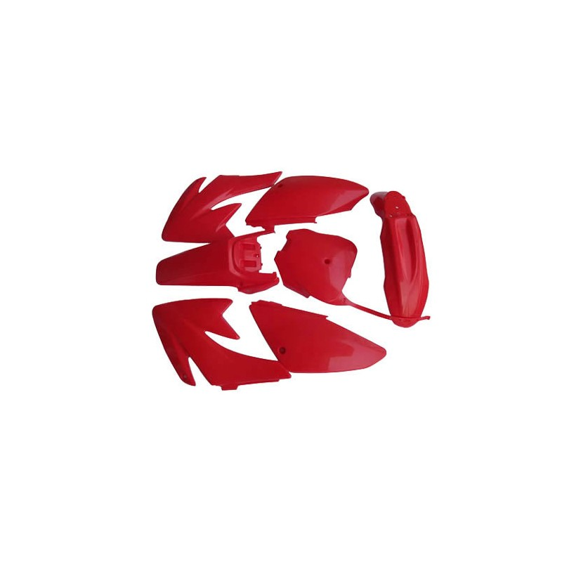 GMX Dirt Bike CR70 Plastic Red