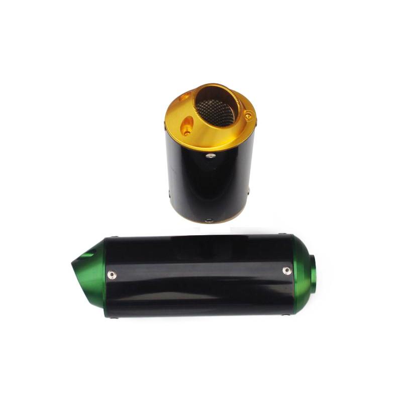 GMX Dirt Bike Black CNC Muffler