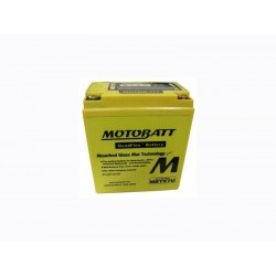 Motobatt MBTX7U Battery AGM with Quadflex Technology